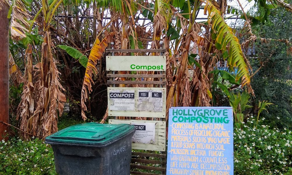 Residential Compost Drop-Off Locations Update
